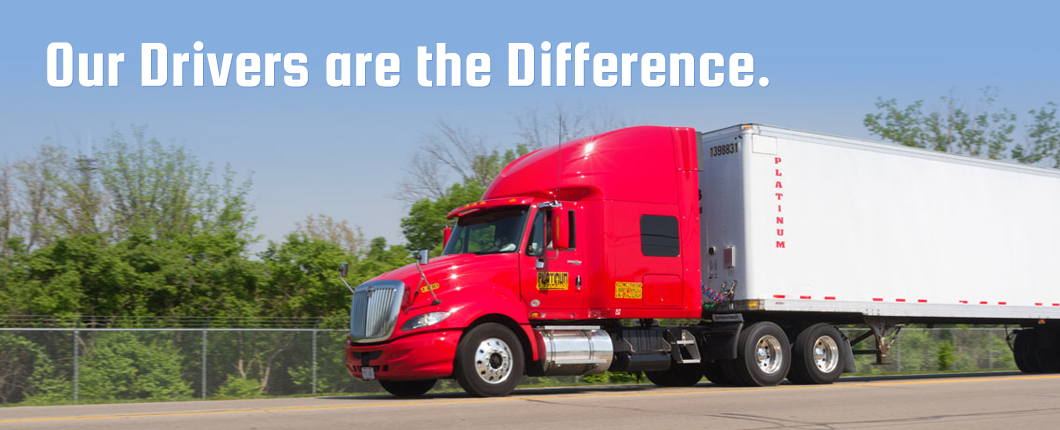 Our Drivers are the Difference.
